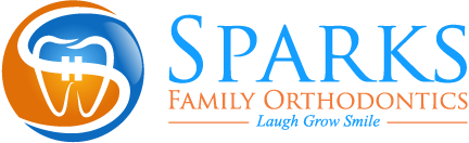 Sparks Family Orthodontics logo - Laugh Grow Smile